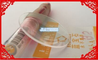 Real Sapphire Free Shipping 1pc 32.5-33.5mm Select Size Convex Sapphire for Watch Repair