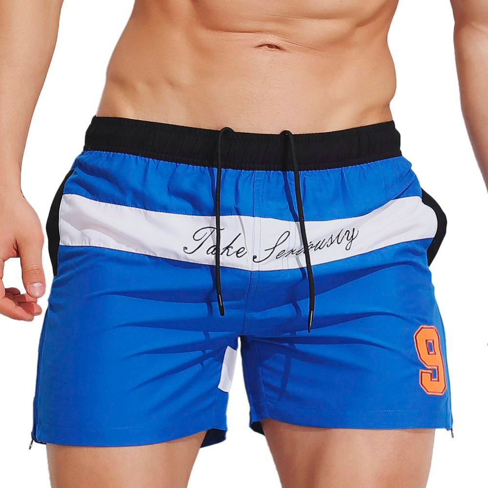 Mens 2018 Mens Breathable Swim Trunks Pants Swimwear Shorts Slim Wear boys swimwear boys swimming trunks