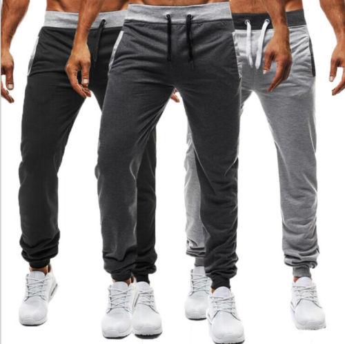 2018 Männer Sport Sweat Pants Hosen Gym Silm Fitness Laufhose Heißer Mode Angenehme SüßE