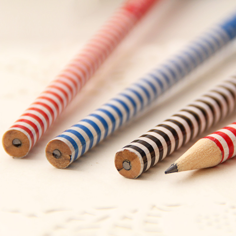 Hb Creative Wood Pencil With Eraser Funny Paper Pencils For School Supplies