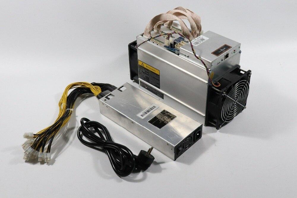 Expédier en 24 heures utilisé AntMiner T9 + 10.5T Bitcoin mineur (avec PSU) Asic mineur plus récent 16nm Btc BCH mineur Bitcoin Machine d'extraction