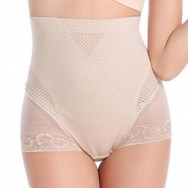 e0a943be9eed8 New Slimming Women s Shapewear Lace Underwear High Waist Tummy Trimmer Body  Shaper Pants Butt Lifter Shaper