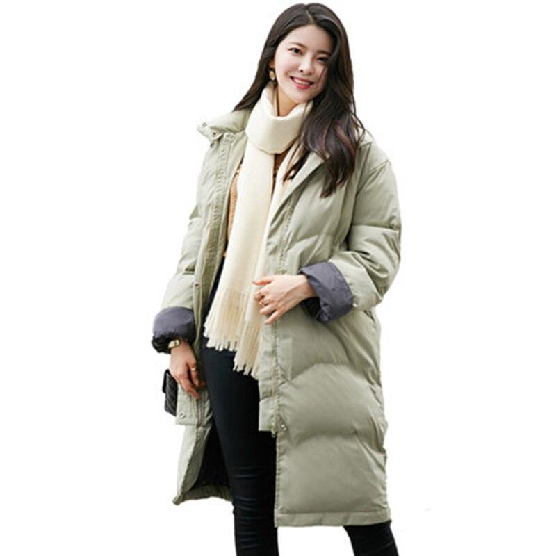 Зима плюс большой куртка с капюшоном Для женщин Подпушка хлопковая куртка новая теплая куртка с капюшоном Для женщин куртка на подкладке из...