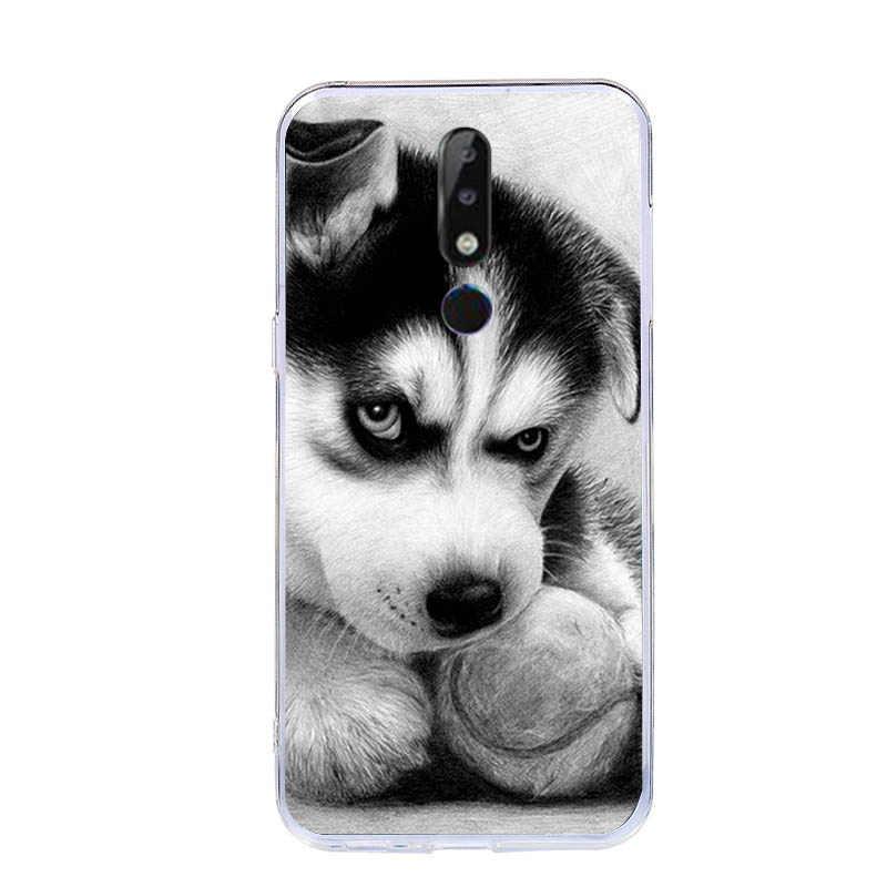 Мультяшный чехол для Nokia 5,1 Plus/X5 силиконовый мягкий чехол для Nokia 5,1 окрашенные ТПУ чехлы для телефонов Nokia 5