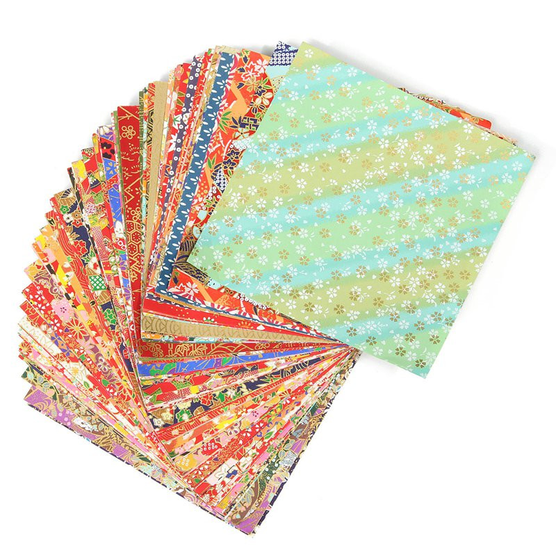 ALI shop ...  ... 32830872249 ... 3 ... KiWarm 24 Sheets Beautiful Floral Folding Paper Origami Art Background Paper Card Making DIY Scrapbook Paper Craft 15x15cm ...