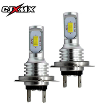 CJXMX H7 LED Fog Light Bulbs 1600LM 80W Extremely Bright Automobile Front Lamp Driving Bulb 6500K For Car Truck Lights
