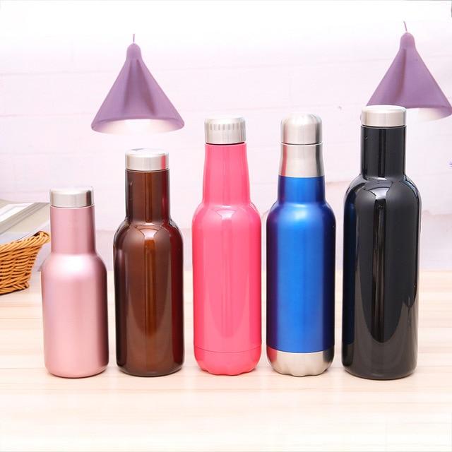 New Thermal Insulation Stainless Steel Creative Bottles  Drinkware Leak-Proof Tumbler Bottle Unbreakable Sports Outdoor