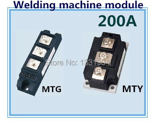 Module de contrôle de silicium de module de scr de joint de soudure de MTG MTY 200A non isolé utilisé pour la machine de soudure