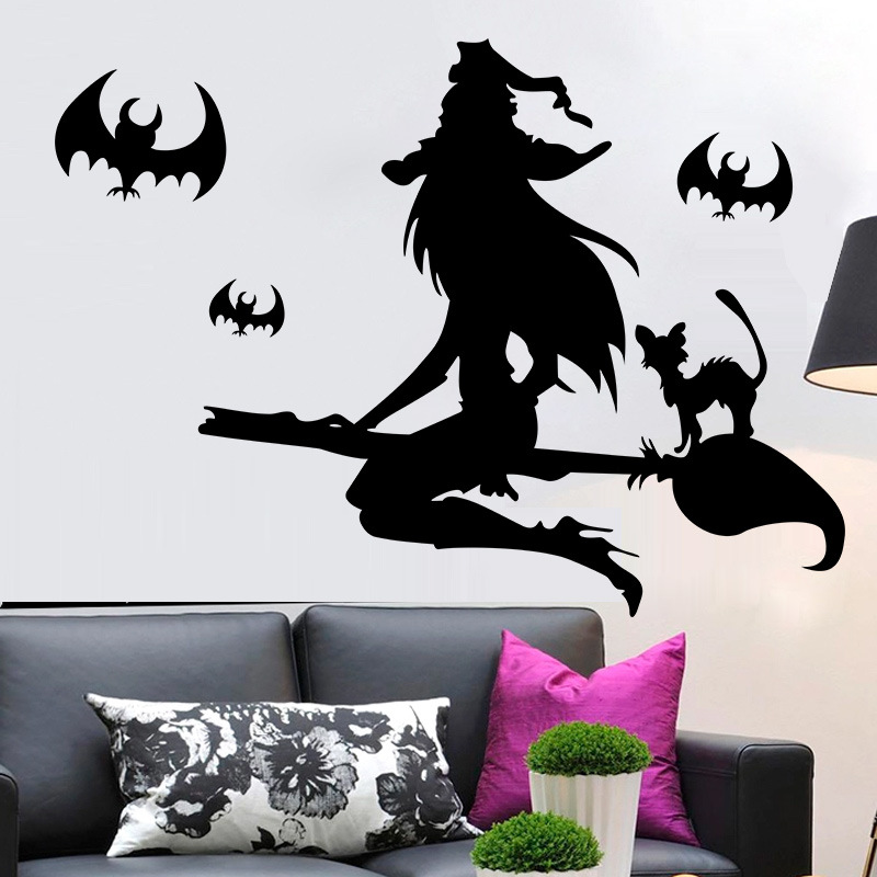 China Shanghai Scenery Wall Stickers Oriental Pearl Tv: 3d Halloween Wallpaper Promotion-Shop For Promotional 3d