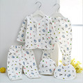 2016 New Newborn Baby Underwear Suits Clothing Set For Spring & Autumn 100% Cotton 5 Pieces Infant Clothes Set High Quality
