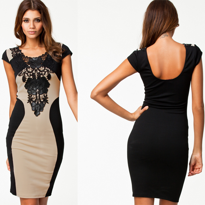 Aliexpress.com : Buy M L 2014 Bandage Dress New Fashion Women ...