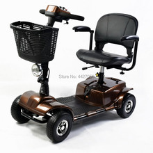 """Складной четырехколесный мобильный скутер с кольцом руль с """" колесом"""