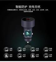 Автомобильный телефон Зарядное устройство цифровой светодиодный Дисплей 5 В 3.1A для Audi A6 C6 BMW F30 F10 Toyota Corolla Citroen C5 ford Focus 3 2 Nissan Qashqai