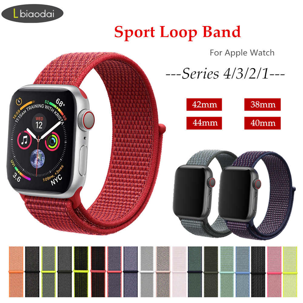 a9fc7dd17b6 Detail Feedback Questions about Nylon Strap for Apple watch Sport ...