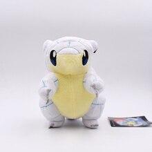 New Stuffed Toys 20CM Alola Ice Sandshrew Animals Plush Doll Free Shipping