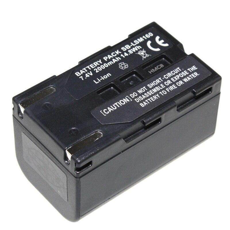 Digital Boy High Quality 7 4v 2000mAh SB LSM160 SB LSM160 SBLSM160 Camera Battery For SAMSUNG