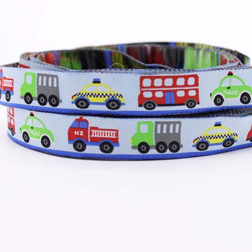 CARS TRUCK Vehicle Grosgrain Ribbon U PICK COLOR BUS
