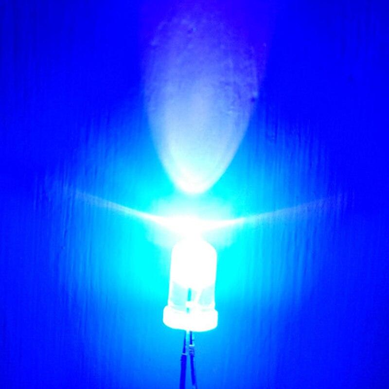 100PCS UV Led  Diode  Ultravioleta Diodes UV Diodo 5mm LED Diode Ultraviolet Ultra LED Chip Emitting Diode F5 LED Light DIY