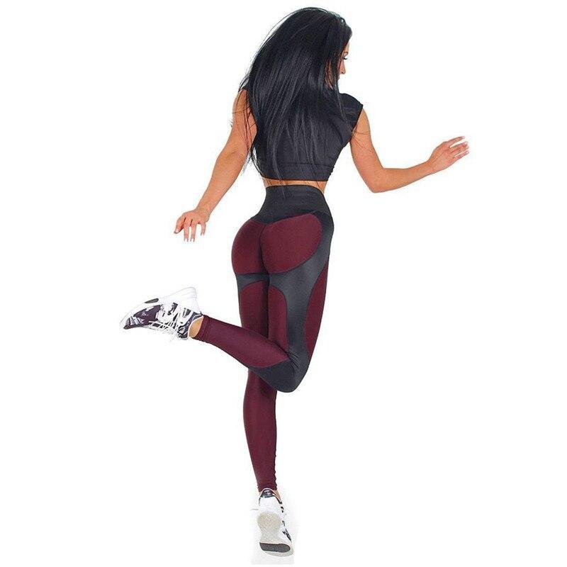 Nouveau Femmes Leggings Fitness Adventure Time Patchwork Épais Legging Haute Élastique Workout Leggings Sportives Pantalon