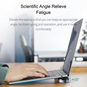 Image 2 - Hagibis dizüstü bilgisayar standı manyetik taşınabilir MacBook soğutma pedi dizüstü bilgisayar Cool Ball ısı dağılımı tırtıklı ped soğutucu standı