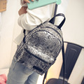 famous brand snake pattern leather backpack women luxury gold/silver travel bag serpentine school bag for teenager girls 2017