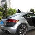 TT Modified Caractere Style Carbon Fiber Rear Trunk Lip Spoiler Car Wing for Audi TT 8J 2008 2009 2010 2012 2013 2014