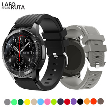 Laforuta Gear S3 Watch Band For Samsung Galaxy watch 46mm Huawei GT Strap Silicone Fitness Loop 22mm Quick Release Bands