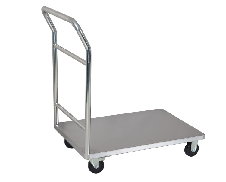 Us 16331 Stainless Steel Platform Utility Cartmobile Platform Trolley With Wheelsindustrial Flatbed Trolley Carts High Quaility Rcs 011 In