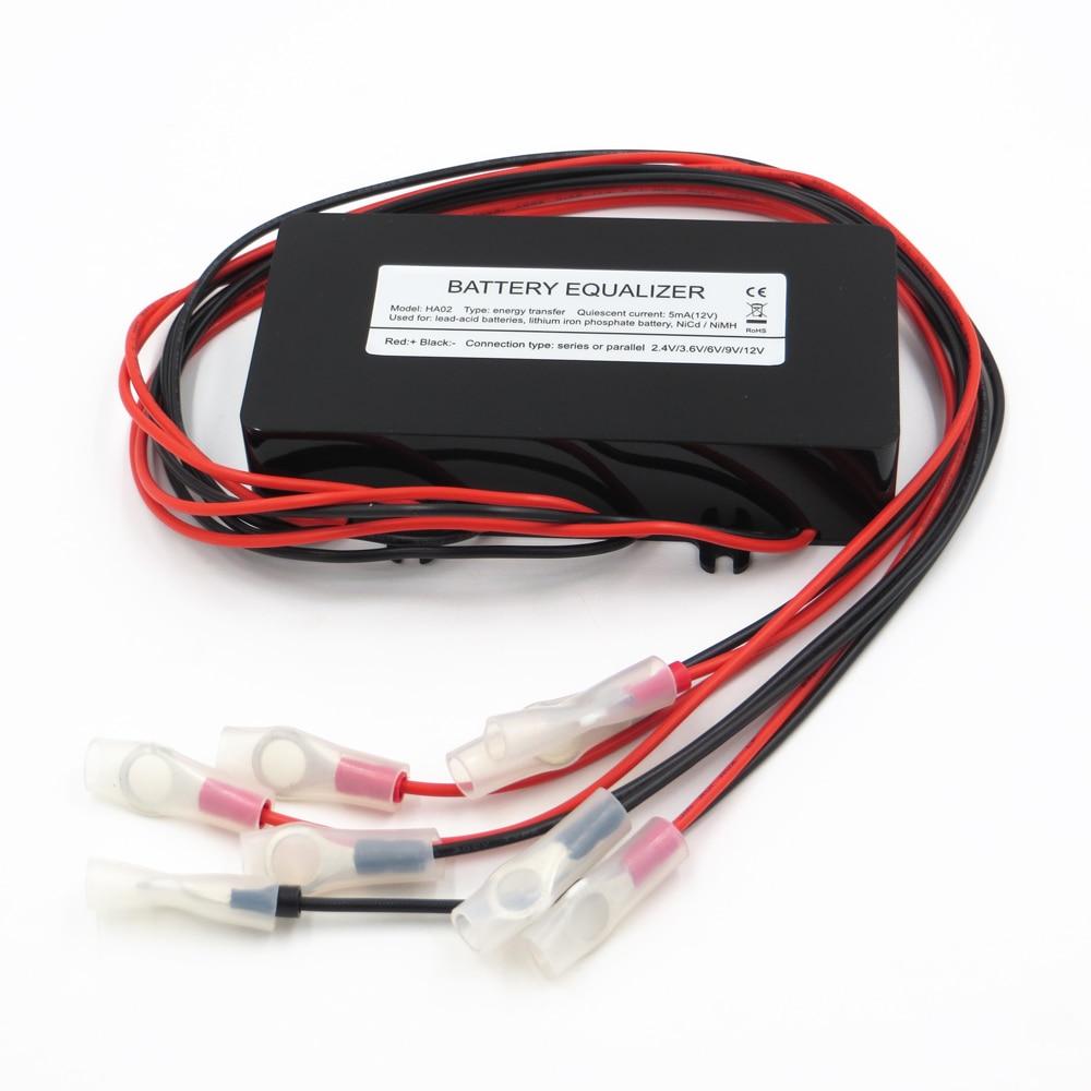 60v 72v 84v Battery Equalizer Used For Lead Acid Batteris Balancer Solar Panels Junction Box Wiring Diagram Wire Manual