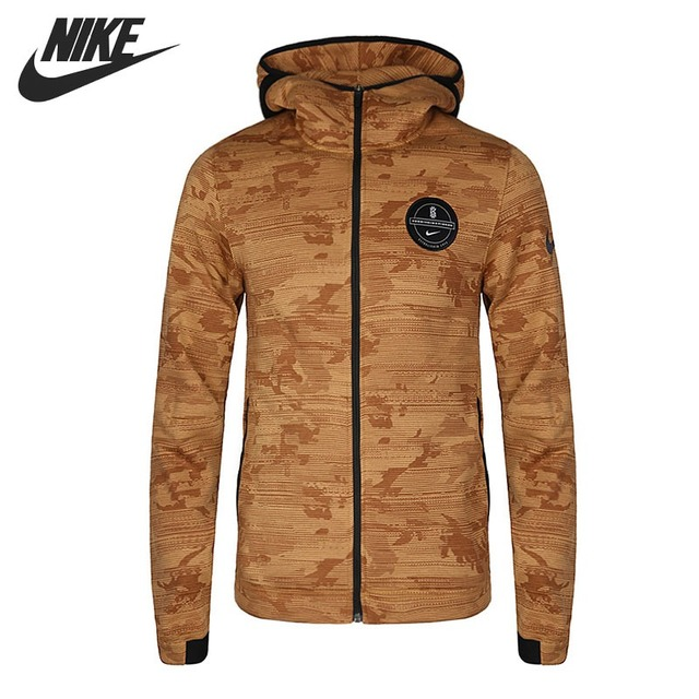 06e0083f9f8d Original New Arrival 2018 NIKE THERMA HOODIE FZ Men s Jacket Hooded  Sportswear-in Running Jackets from Sports   Entertainment on Aliexpress.com