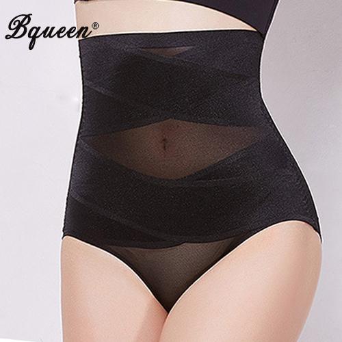 Bqueen 2017 Women's Shaper Underwear Hi-Waist Brief Firm Control Tummy Slimming Underwear Body Shaper Top Quality