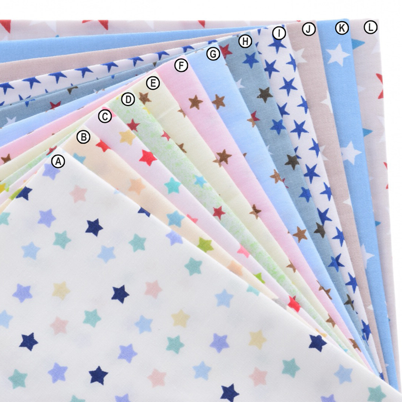 Popular patchwork print fabric buy cheap patchwork print for Star curtain fabric