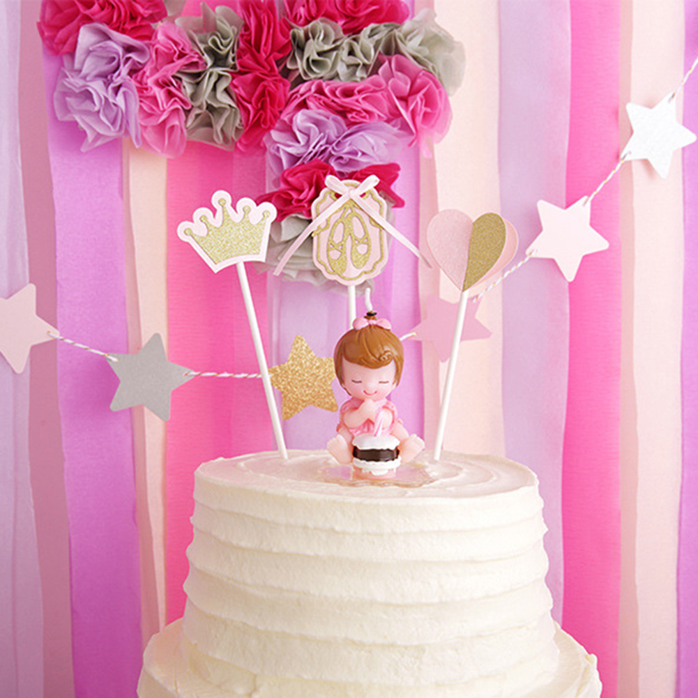 Amazing Baby\'s Making Wish Model Art Cake Candle for Wedding Party ...