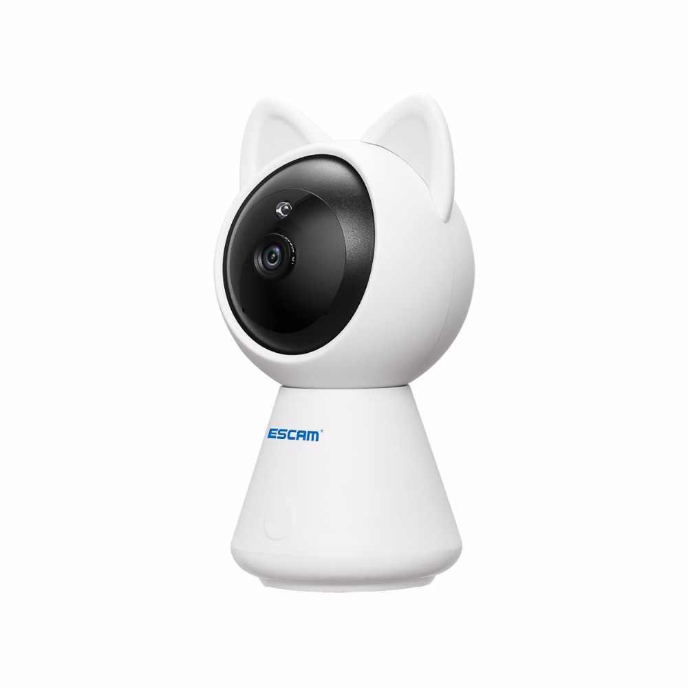 Escam QF509 HD 1080P панорамирования/наклона монитора Wi-Fi IP ИК камера ночного видения сетевая мини-камера Поддержка детектор движения Max 128 г TFCard