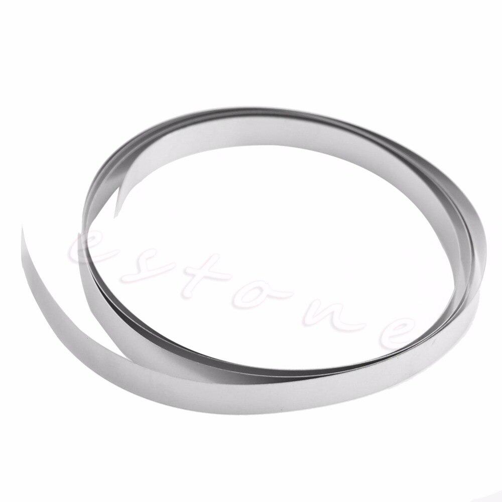 Ni Plated Nickel Strip Tape 1M 8mm X 0.15 For Li 18650 Battery Spot Welding