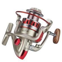 Buy HobbyLane Outdoor Fishing DF Metal Head Reel Full Metal Rocker Rotating Fishing Reel Freshwater Sea Fishing Reel Hot Sale directly from merchant!