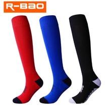 Футбольный мяч, раздел-детские носки 2 пары в партии) R-BAO RB6605 хлопковые футбольные носки мужские спортивные носки для пешего туризма на открытом воздухе