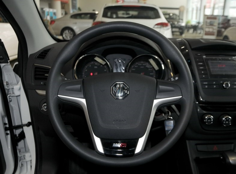 Black color steering wheel cover with MG LOGO for Chinese SAIC ROEWE MG5 auto car motor