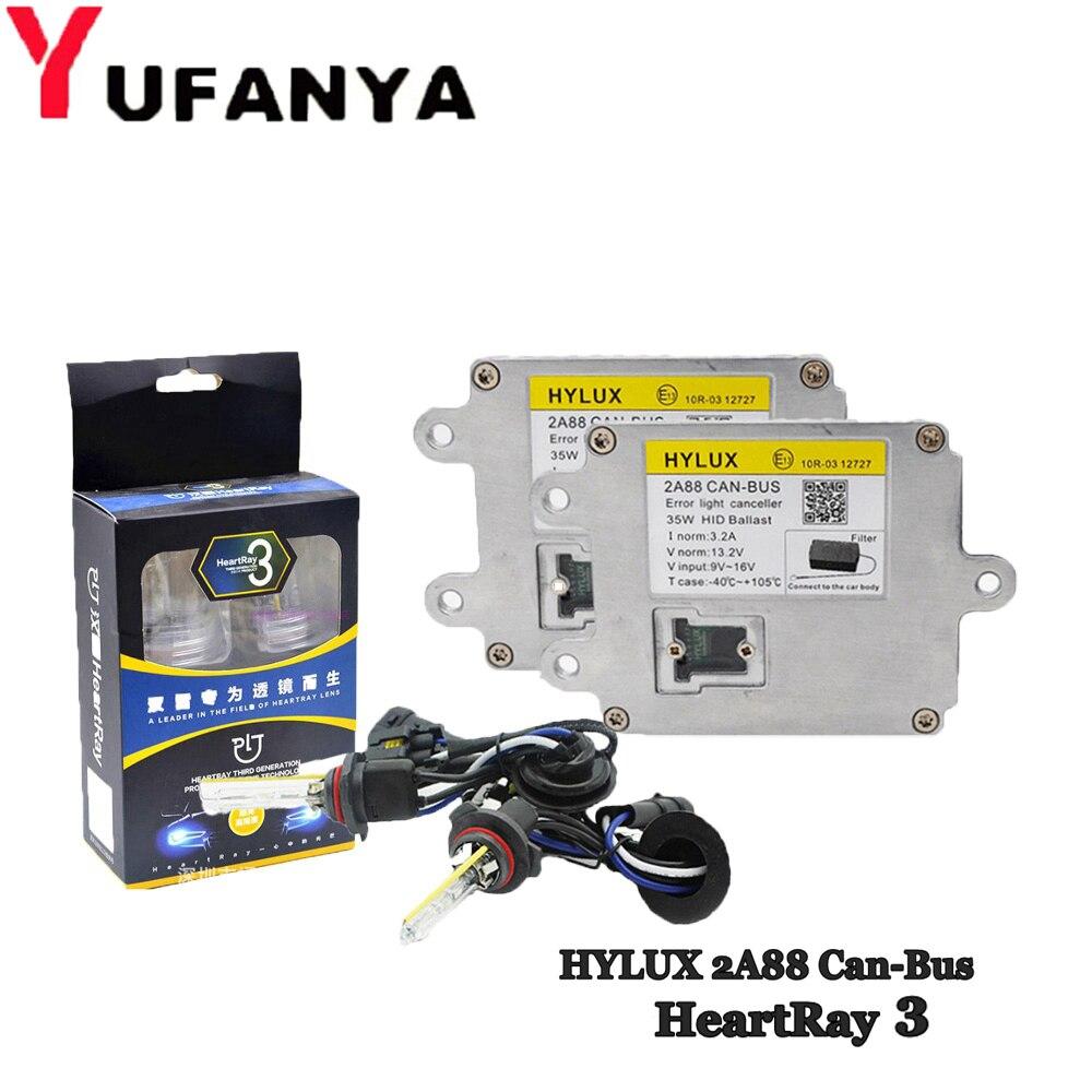 HID xénon Kit canbus Ballast pour Hylux 2A88 pour foyer HID xénon ampoule H1 H3 H7 H11 9005 9006 9012 D série phare modification