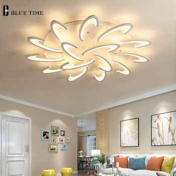 Acrylic Modern Led Chandeliers Living Room Bedroom Dinning room LED Modern Led Chandelier Ceiling Mounting Lights Home Lighting - DISCOUNT ITEM  58% OFF All Category