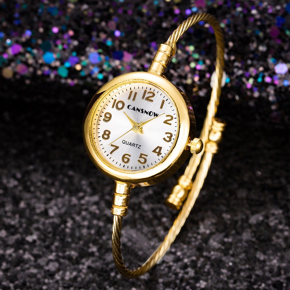 Women Casual Bracelet Watch Analog Bangle Wrist Watch Relogio Feminino Women Quartz Watches Zegarek Damski Bayan Kol Saati