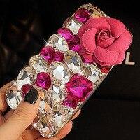 Luxury 3D Rhinestone Diamond Bling For Samsung Galaxy S6 S6 Edge S5 S3 S4 Note2 Note3