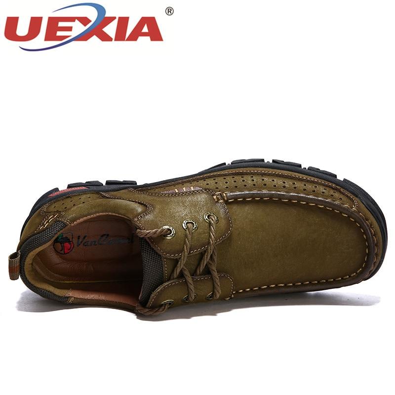 Glissement Hommes À Sur Main Chaussures Bateau En La brown Khaki Adulto Uexia Souple Tenis Cuir Hombre Zapatos Mocassins 2018 Marche Masculino nZAxw6qXx