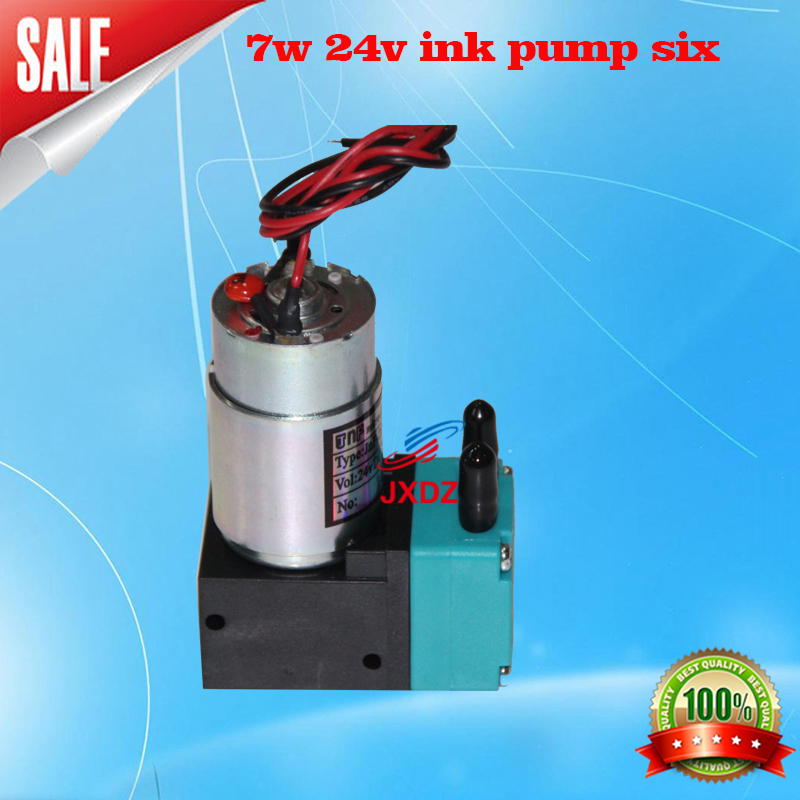 Free shipping! 2pcs sky-color printer 7w 24V ink head pump of big outdoor and based Wide Format solvent inkjet printer