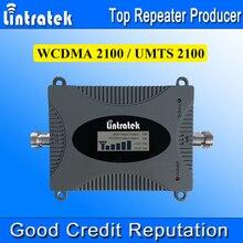 Lintratek Poderosa 3G Teléfono Celular amplificador de Señal Del Repetidor Del Amplificador Versión de Actualización 3G WCDMA UMTS 2100 MHz Teléfono Móvil repetidor/