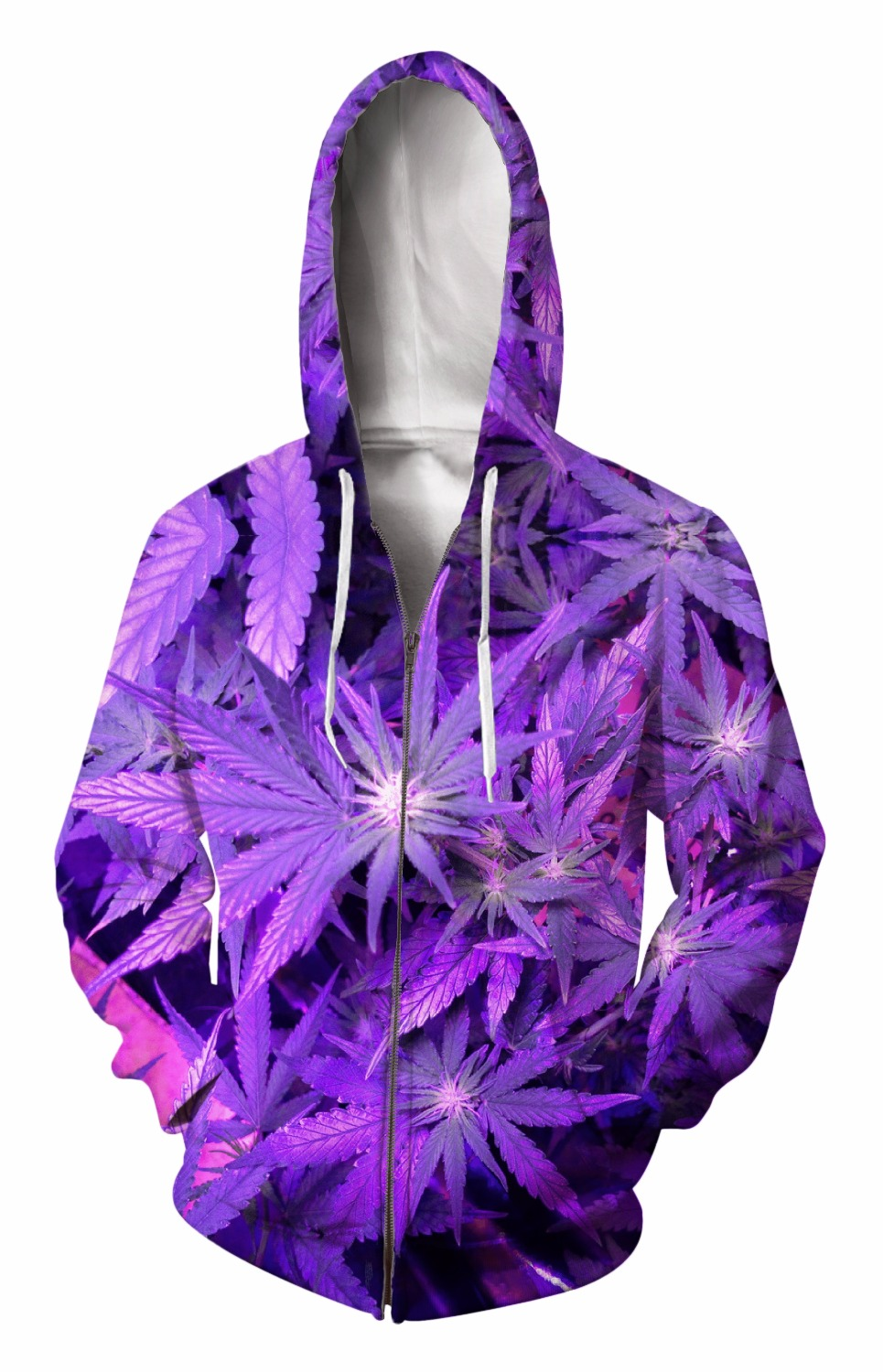 Zip-Up Hoodie 3d Print Soft Leaves Clothing Women Men Tops Hooded Casual Zipper Sweatshirt Outfits Coats Sweat factory outlet