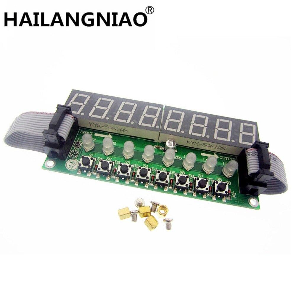 5 piezas JY LKM1638... f71A 8 * tubo Digital + 8 * llave + 8 * Módulo LED de doble Color TM1638 puede estar en cascada reemplazar circuitos integrados-in Accesorios y piezas de reemplazo from Productos electrónicos    1