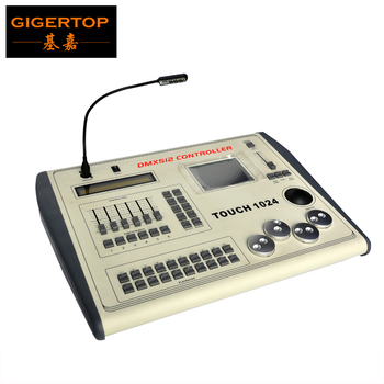 TIPTOP Touch 1024 Stage Light Controller Pilot 3000/STONE 1024 4 Rotate Wheel 1024 DMX Channel 2 Universe Output Flightcase Pack фото