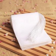 Чайные пакетики 6x8 см, пищевые пустые ароматизированные чайные пакетики для заварки с нитью, фильтрующая бумага для травяной листовой чай Bolsas de te