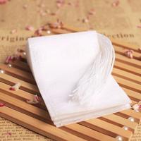 Os sacos de chá perfumados vazios do produto comestível de 6x8 cm do produto comestível infuser com corda curam o papel de filtro do selo para o chá solto da erva|Saquinhos de chá descartáveis| |  -